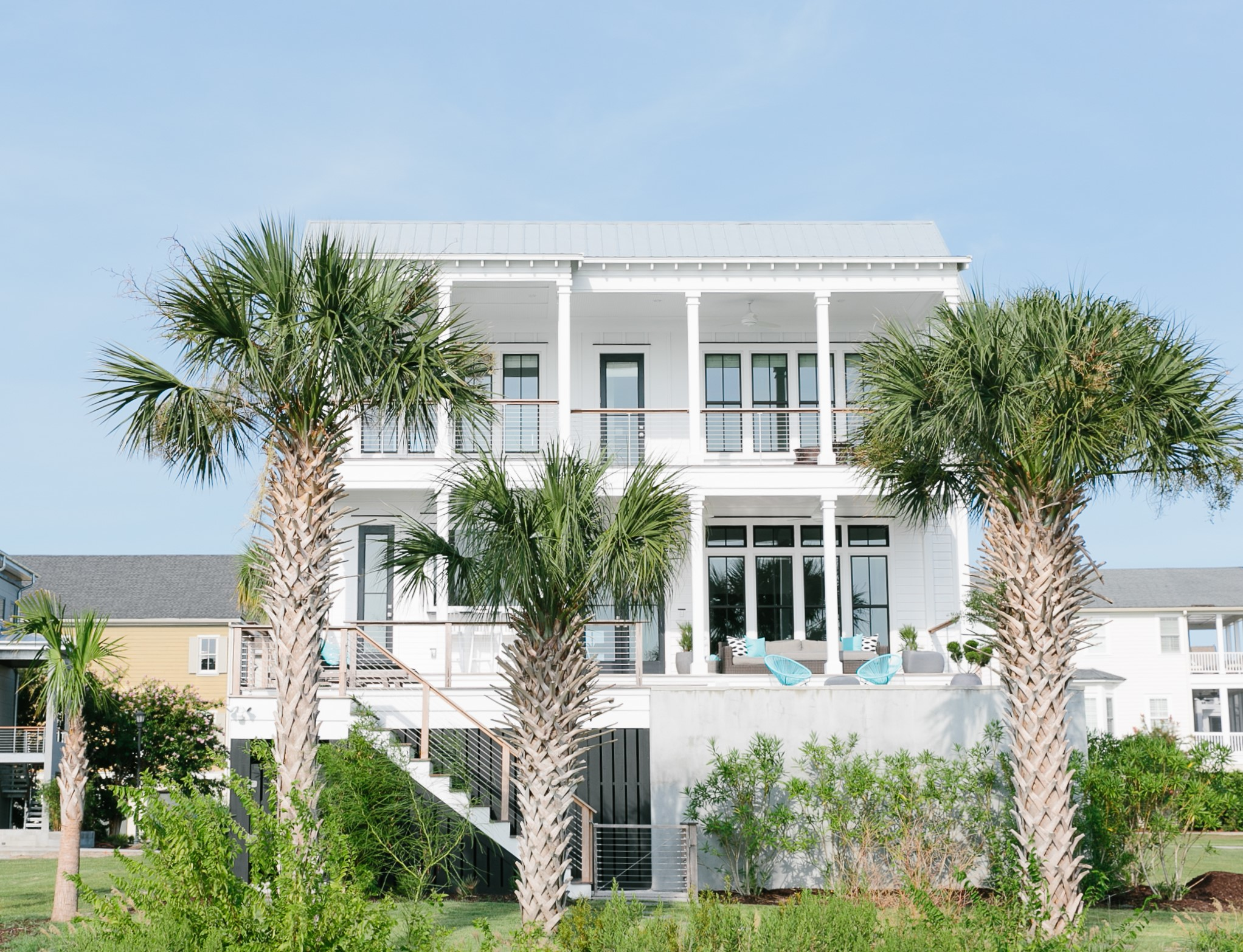 new custom home in Charleston by Madigan Projects