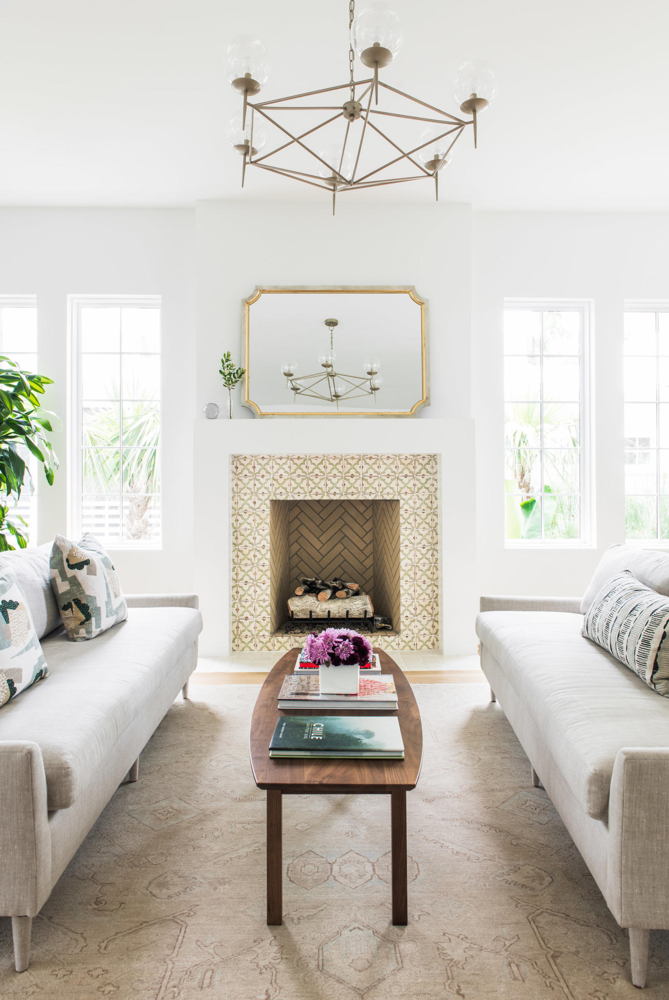 interior of new home in Mount Pleasant by Madigan Projects