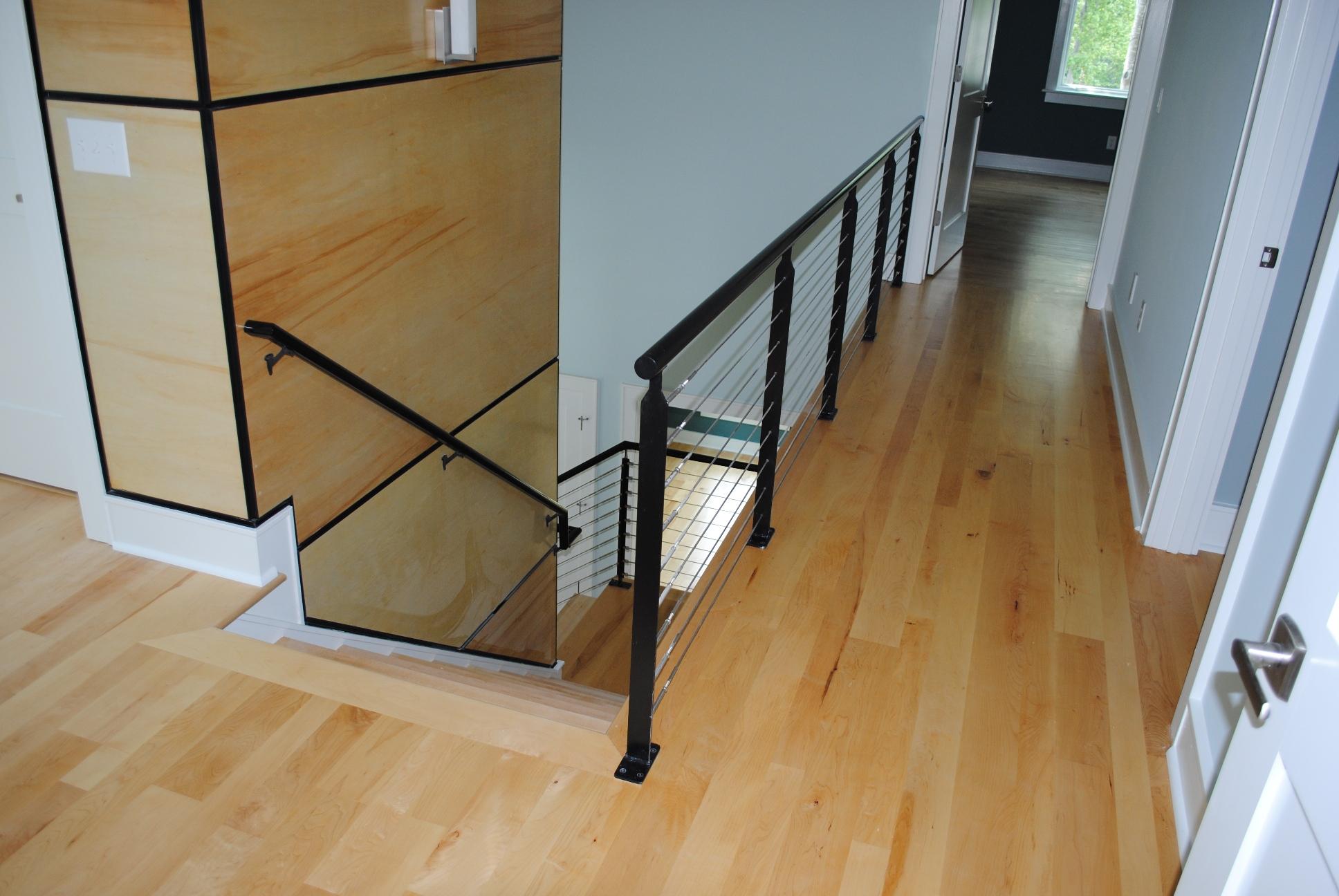 interior upstairs of new custom home in Charleston