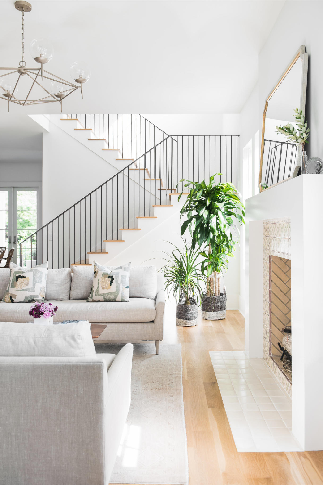 custom interior by Madigan Projects at Mount Pleasant home