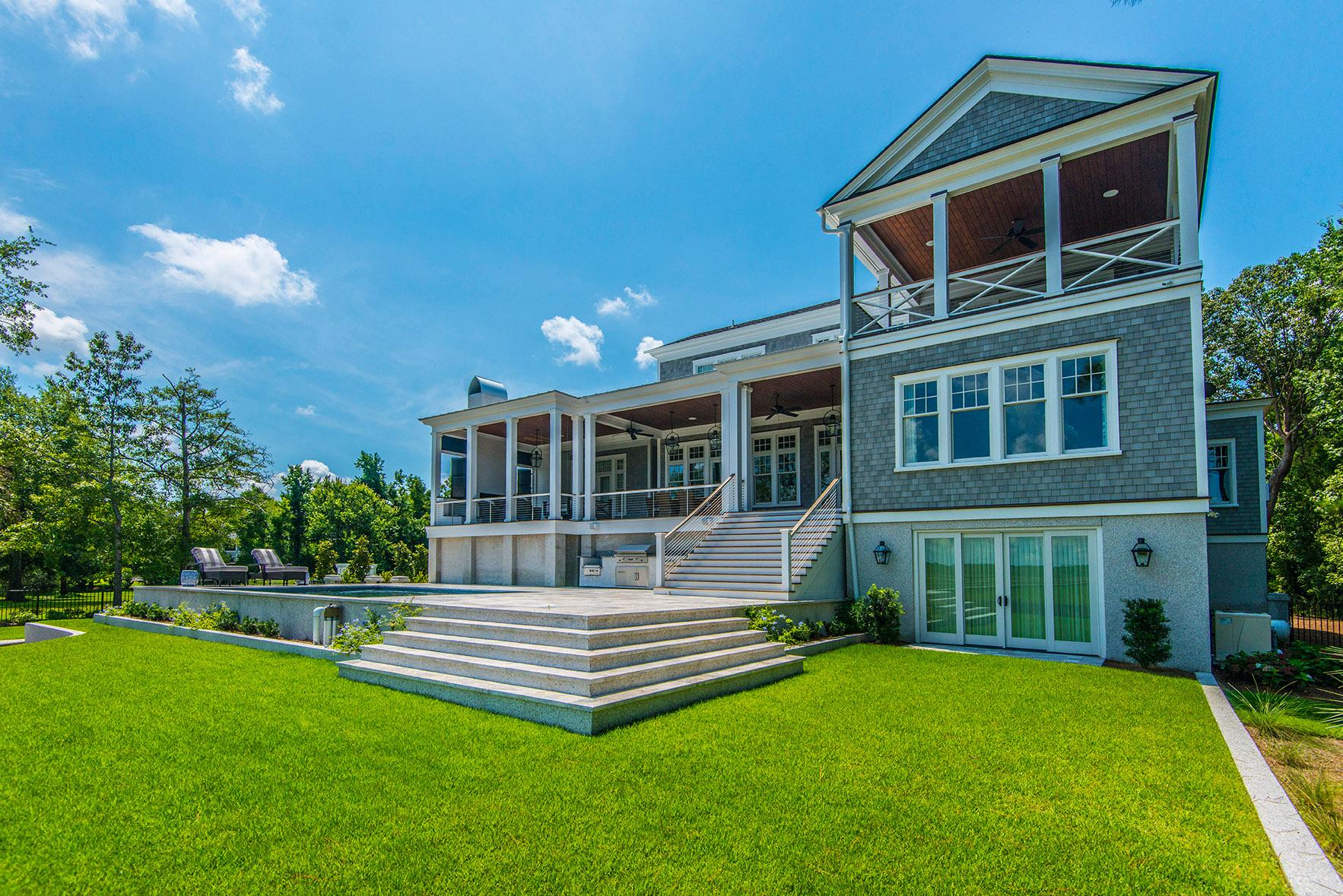 new custom home in Charleston
