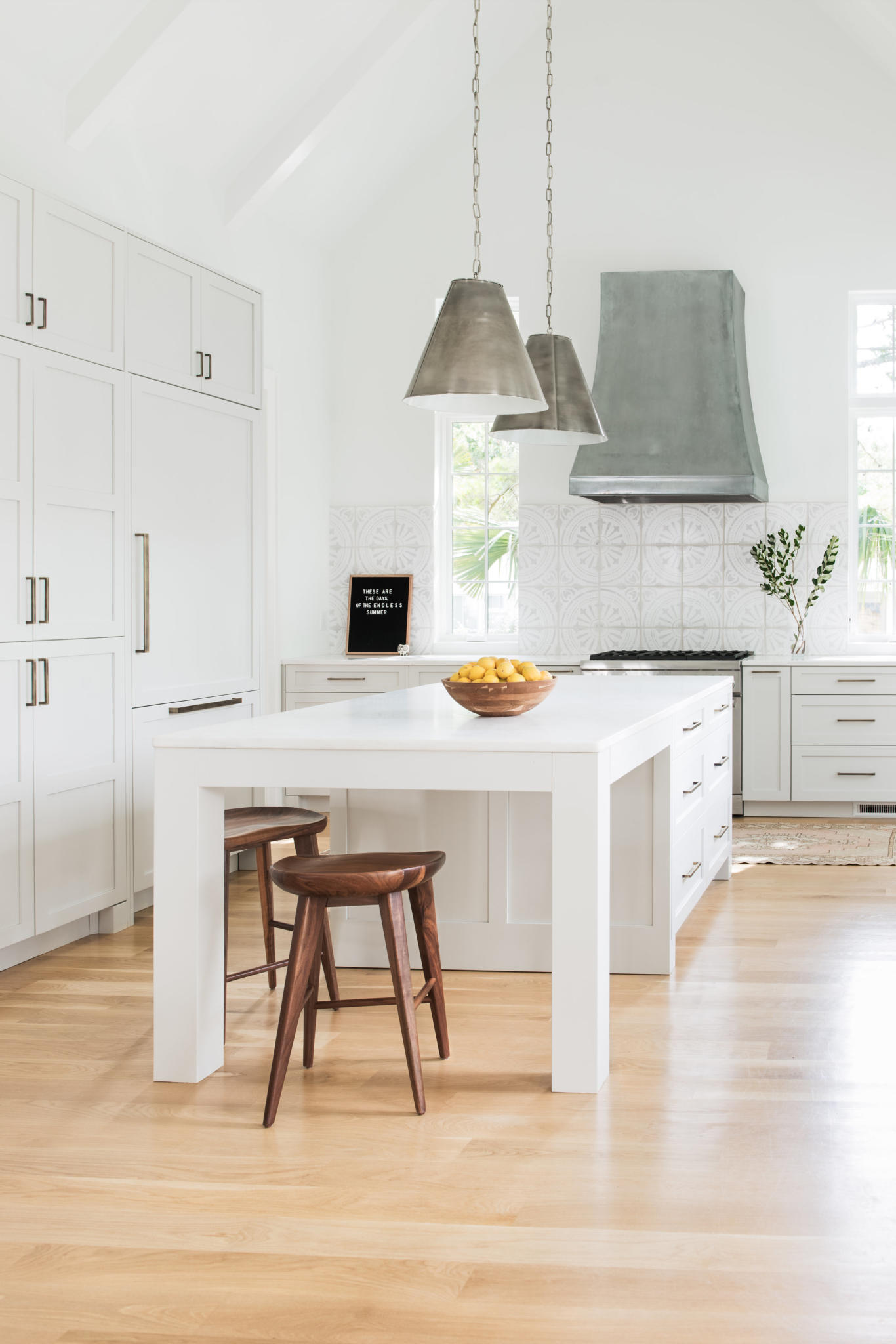 custom kitchen by Madigan Projects