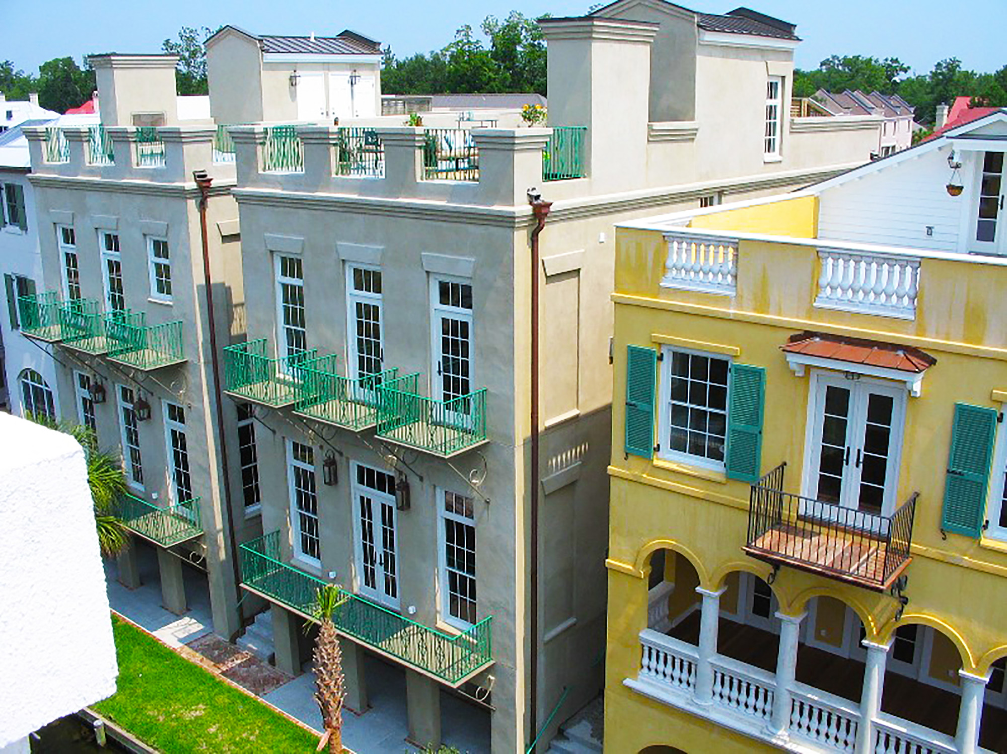 custom Charleston town homes by Madigan Projects