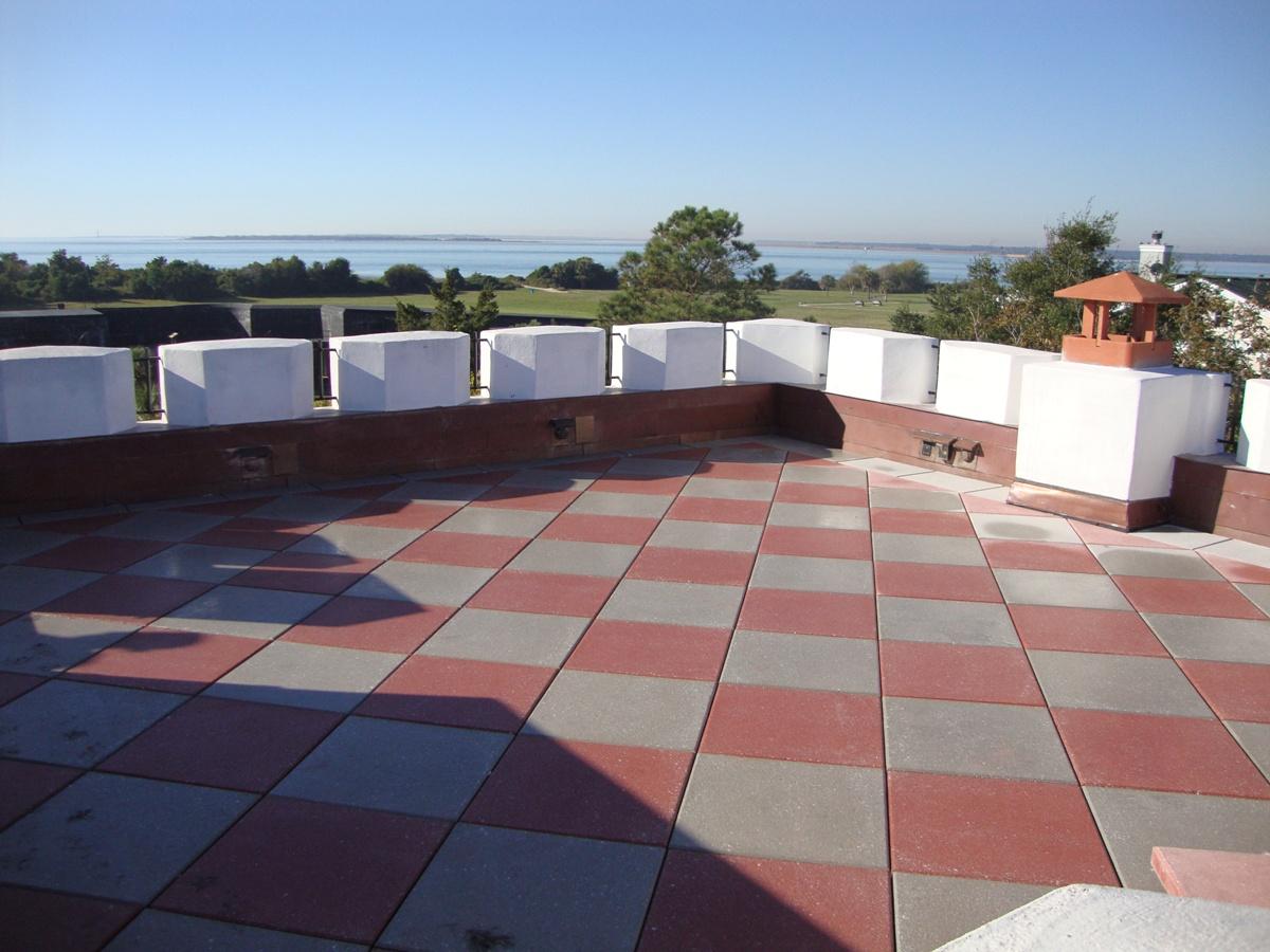rooftop of custom job on Sullivans Island