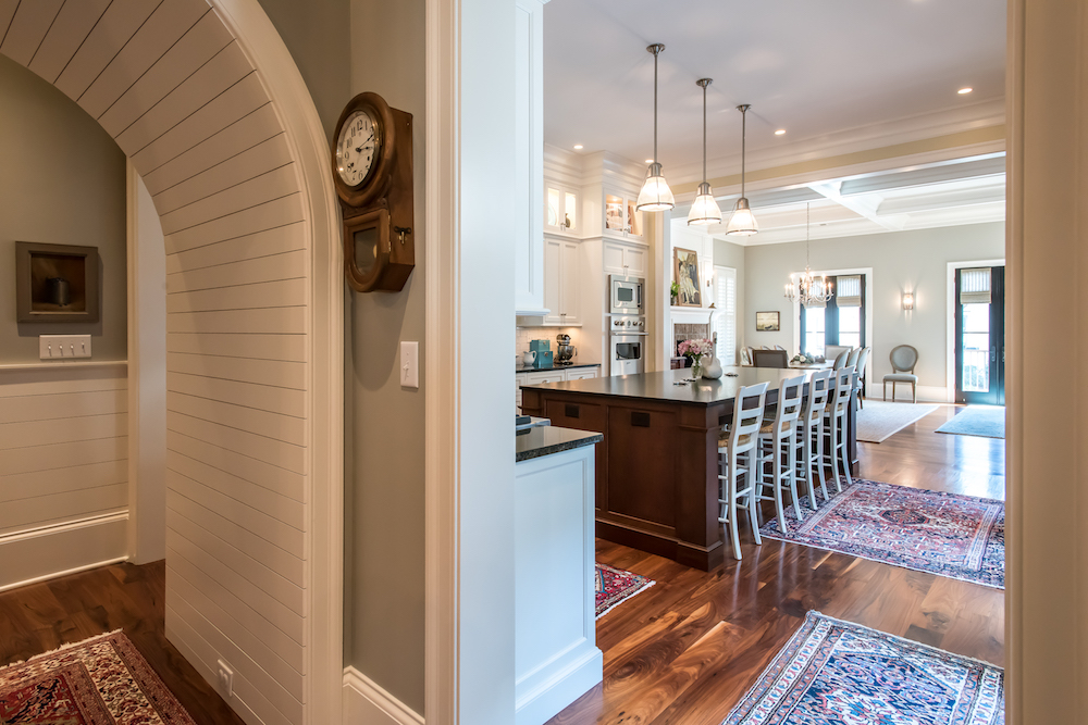 interior of new custom home by Madigan Projects