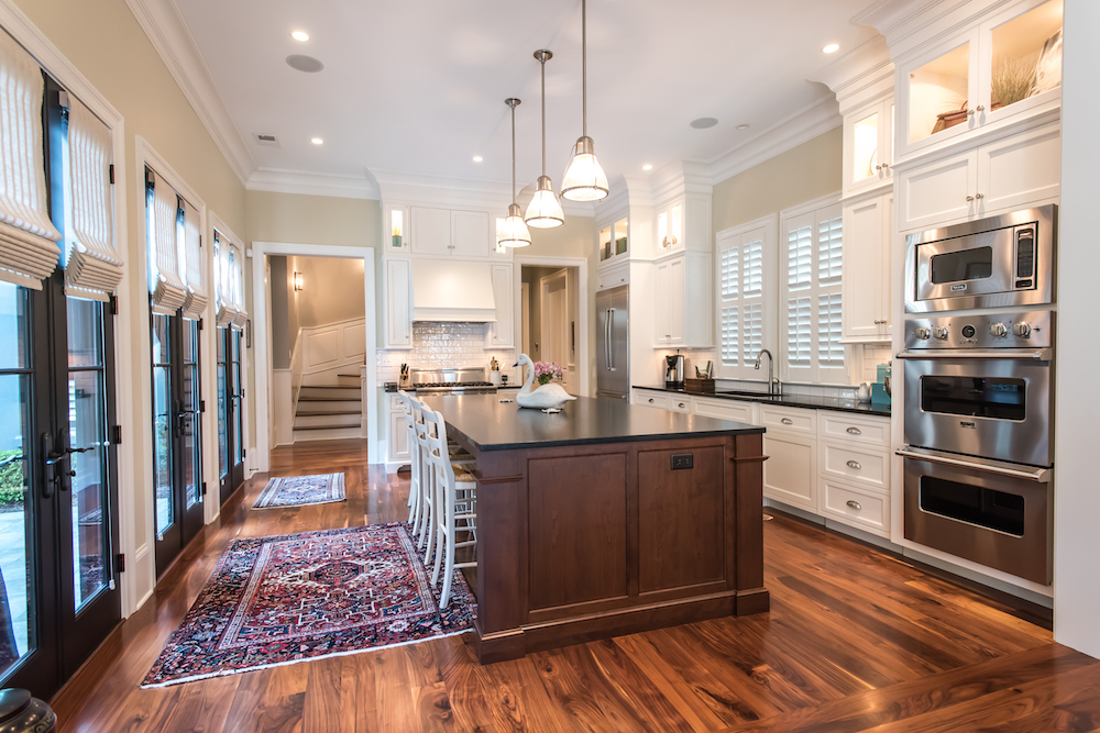 custom kitchen in Ion home