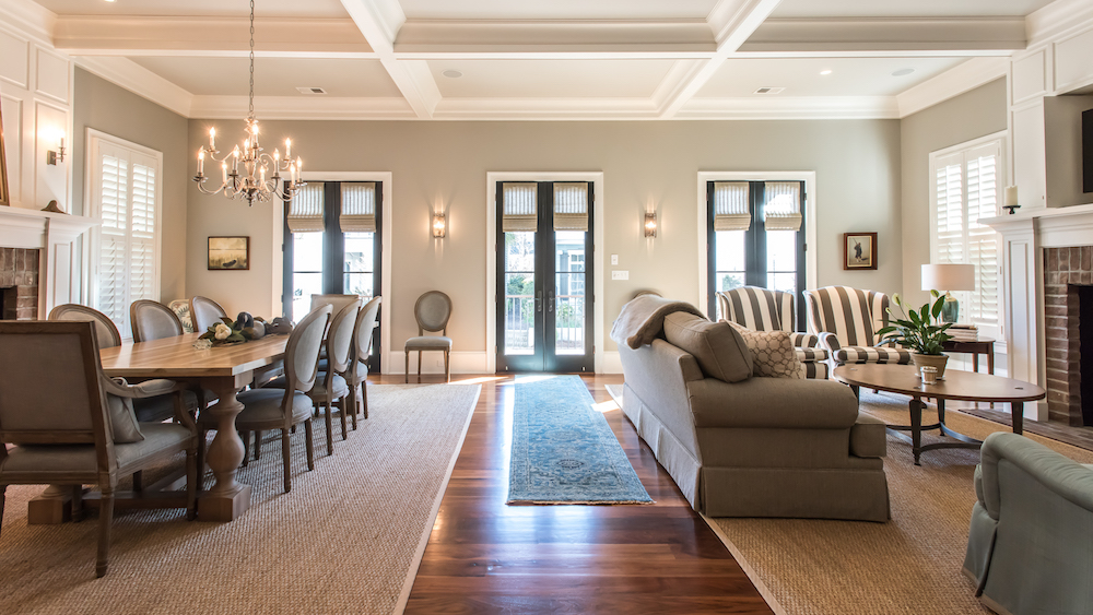 interior of custom Ion home