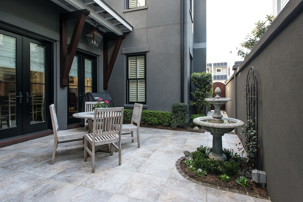 custom patio by Madigan Projects in Ion