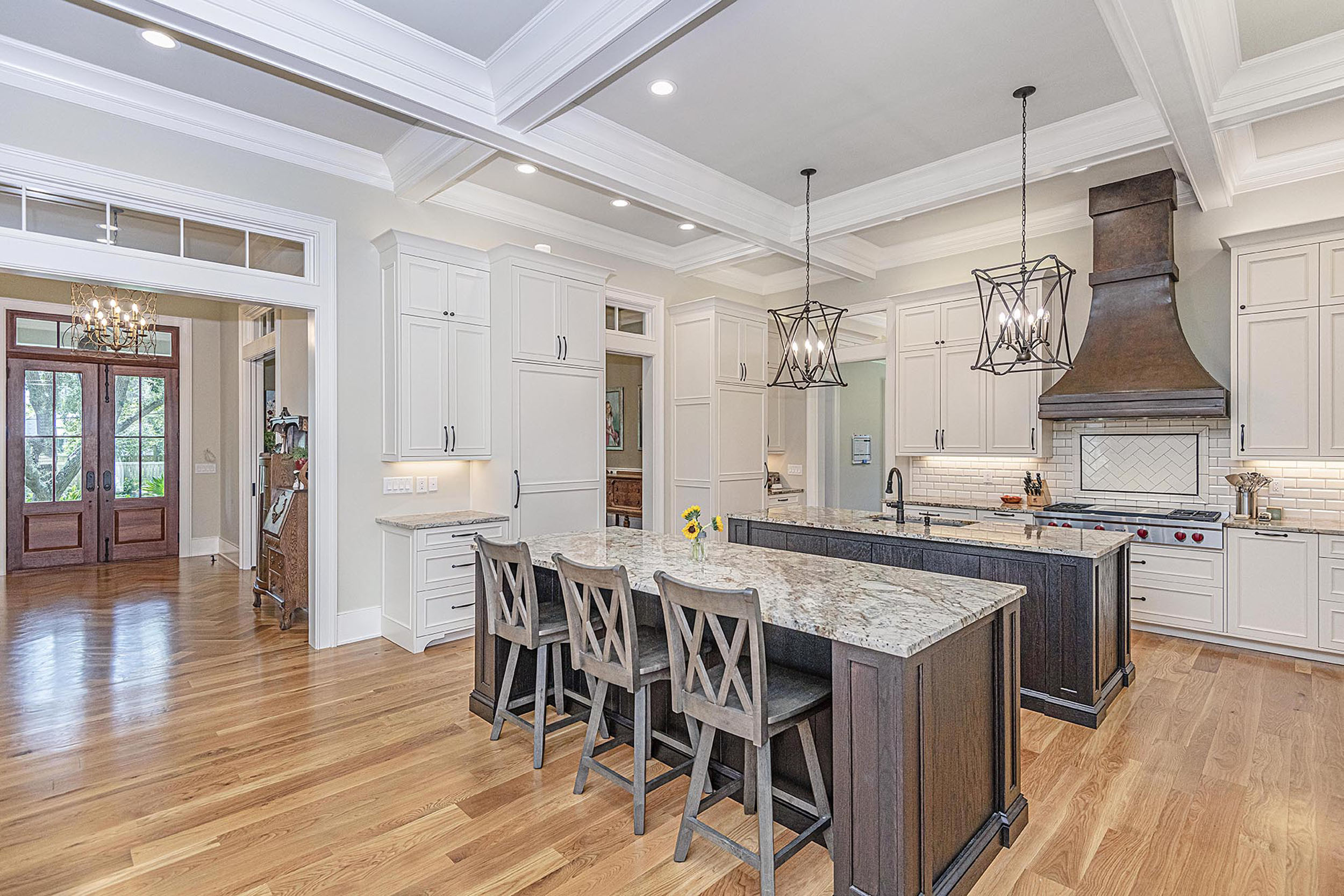 custom kitchen design by Madigan Projects